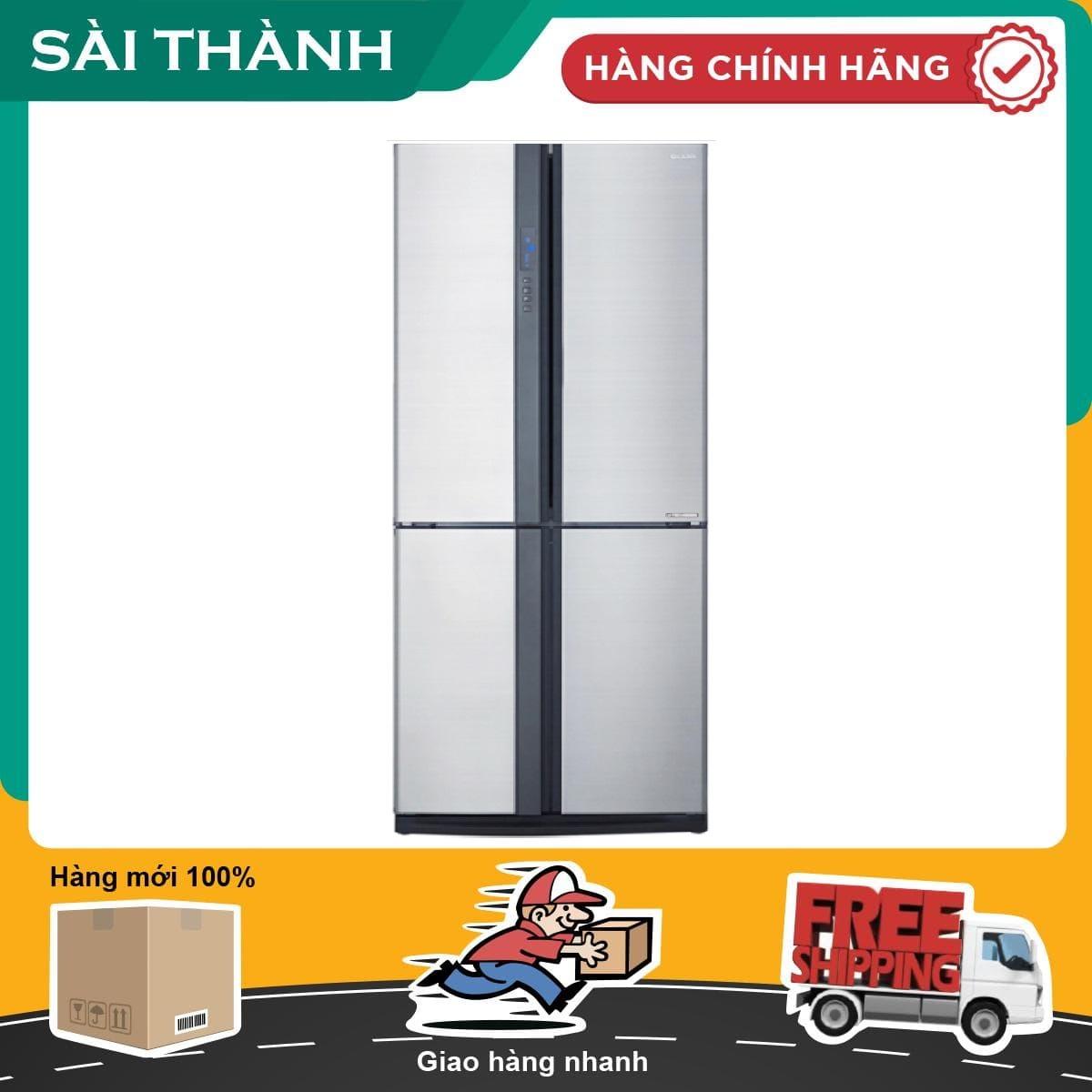 Tủ lạnh Sharp Inverter 626 lít SJ-FX631V-SL - Bảo hành 12 tháng