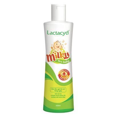 Offer tại Lazada cho Sữa Tắm Trẻ Em Lactacyd Milky 250 Ml
