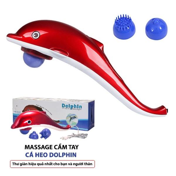 Máy MASSAGE hình cá heo - DOLPHIN Làm giảm đau hiệu quả cơ vai, cổ do khi ngủ sai tư thế, massage giúp thư giãn cũng như tăng cường lưu thông máu và đẩy nhanh quá trình trao đổi chất