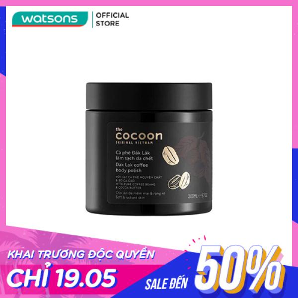 Tẩy Tế Bào Chết Cocoon Dak Lak Coffee Body Polish Từ Cà Phê Đak Lak 200ml