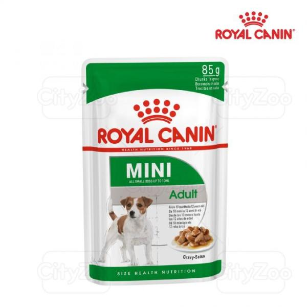 ROYAL CANIN MINI ADULT WET - THỨC ĂN ƯỚT CHO CHÓ NHỎ CON TRÊN 10 THÁNG TUỔI 12 X 85G