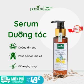 Serum dưỡng tóc Purevess, giúp dưỡng tóc dài và dày, giảm rụng tóc, kích thích mọc tóc và phục hồi tóc hư tổn. 120ml thumbnail