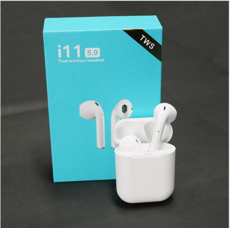 ( Hàng Sịn Nguyên Seal- Bảo hành 1 năm) Tai Nghe Bluetooth I11 nút cảm biến , âm thanh 5.0 đỉnh cao -Tai nghe không dây - Tai nghe dành cho iphone, xiaomi, sam sung, oppo