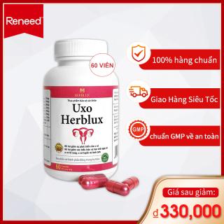 Viên uống giảm u xơ Uxo Herblux giảm nguy cơ u xơ tử cung, u xơ tuyến vú lành tính thumbnail