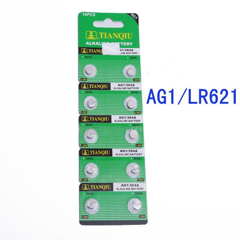 Giá combo 2 vĩ Pin nút AG1 (LR621 364A SR621SW) 1.55V (vĩ 10v)