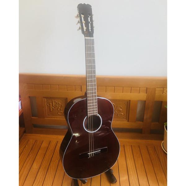 Đàn guitar Classic DVE70C Duy Guitar Store đàn ghitar dành cho bạn mới tập ghita cho âm thanh cổ điển ấm áp  - tặng Bao da phụ kiện đàn guitar giá rẻ cho sinh viên