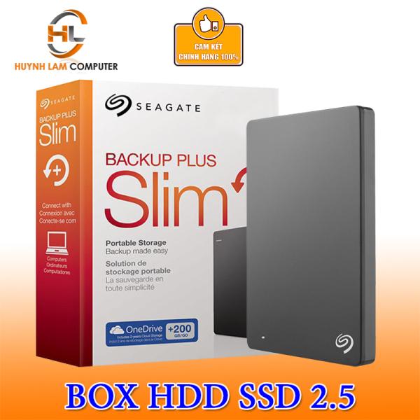 Bảng giá Box HDD 2.5 USB 3.0 Seagate SLIM gắn mọi ổ cứng Phong Vũ