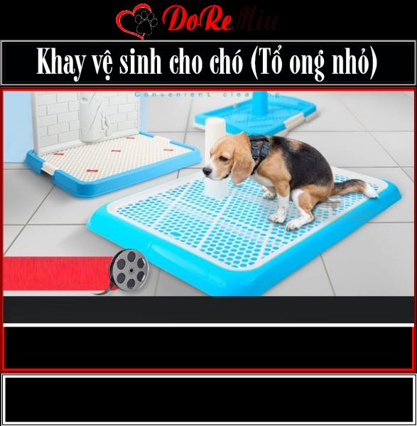 Doremiu- Khay vệ sinh chó - loại khay tổ ong nhỏ cho chó dưới 10kg
