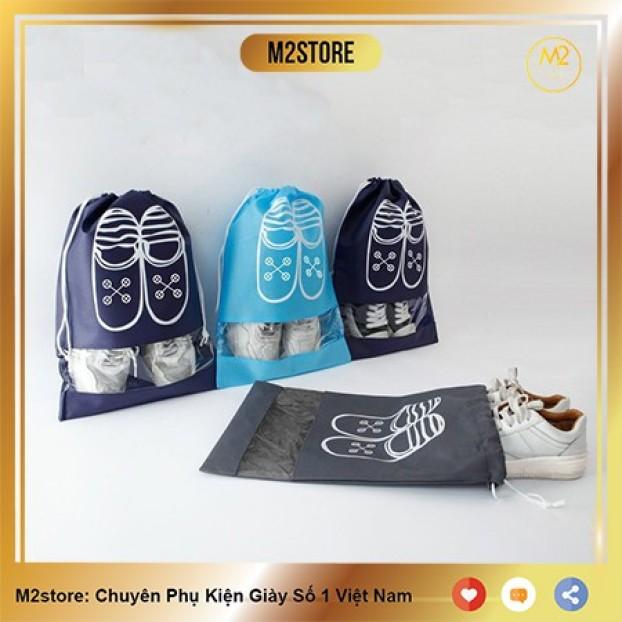 Túi Đựng Giày Hoạ Tiết Chống Bẩn Đi Du Lịch Tiện Lợi XIMO Bảo Vệ Giày (TDG01) giá rẻ