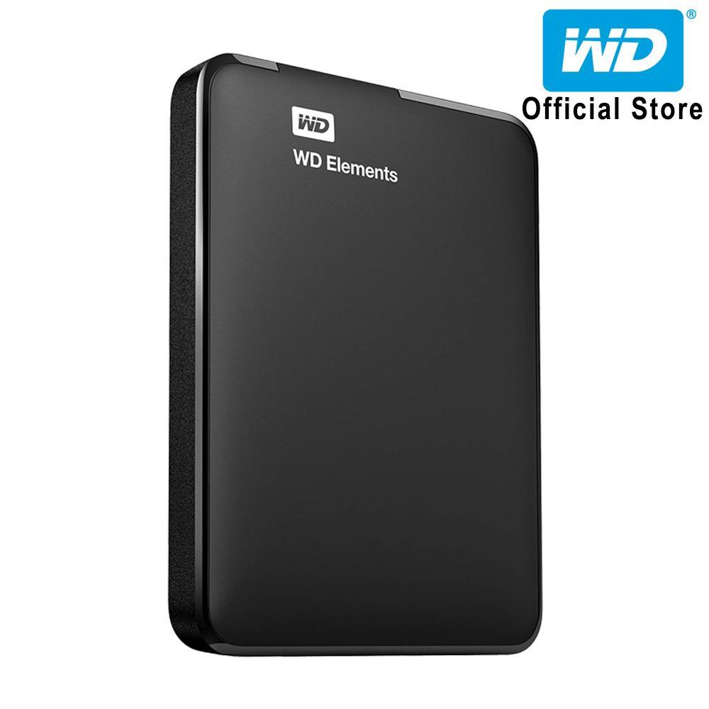 Ổ cứng di động WD Elements 500GB WDBUZG5000ABK-WESN