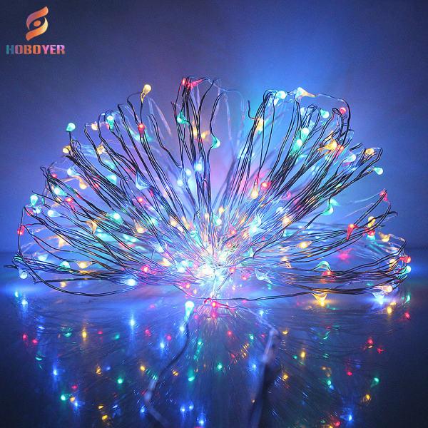 Bảng giá HOBOYER Đèn Led Dây Đồng Trang Trí, Thích Hợp Trang Trí Phòng Ngủ, Sân Vườn, Giáng Sinh
