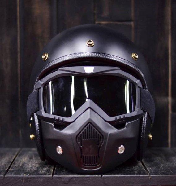 Giá Cực Sốc Khi Mua Combo Mũ 3/4 + Kính Beon Mask đi Phượt !