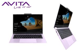 Laptop AVITA LIBER V14 màu tím tử đinh hương - Core i5-10210U RAM 8GB SSD 512GB Win 10 Home - Nhận ngay 1 bộ quà tặng 1 máy rửa mặt Emmié Primium Facial Cleansing Brush + 2 mặt nạ cấp ẩm Emmié thumbnail