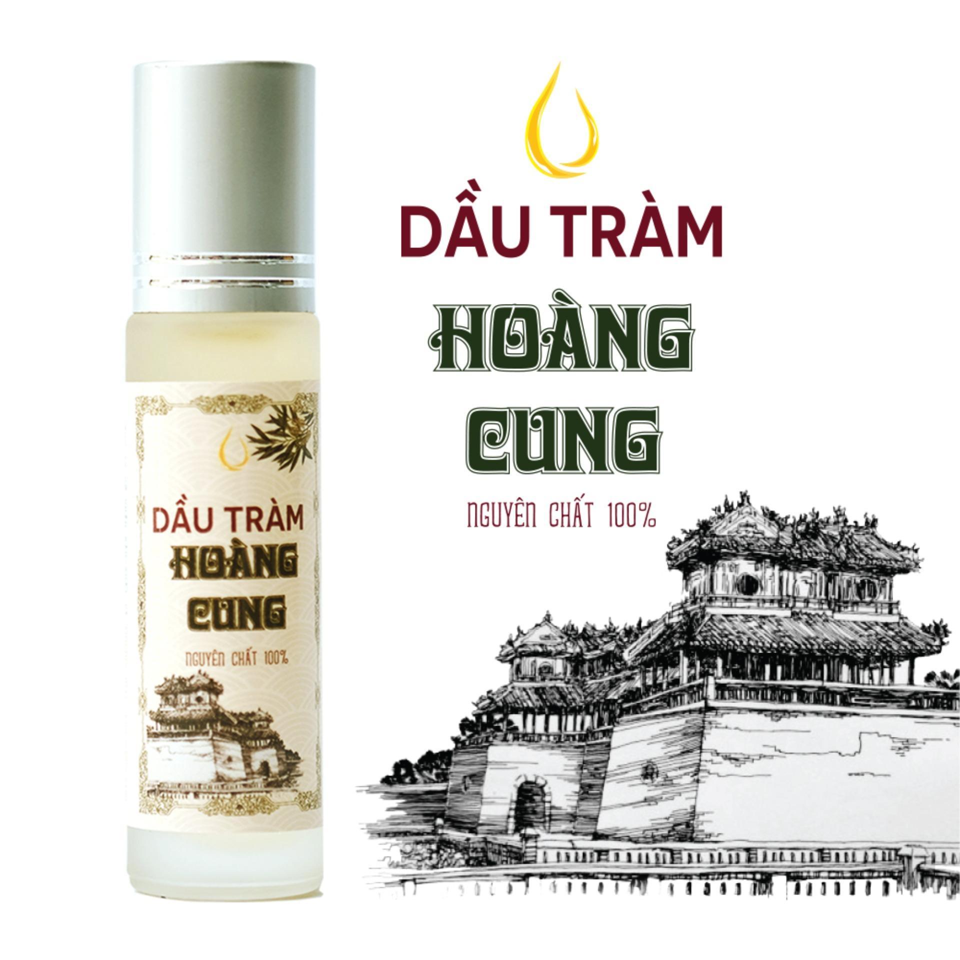 Dầu tràm cho bé - dầu tràm Hoàng Cung 10ml (chai lăn)