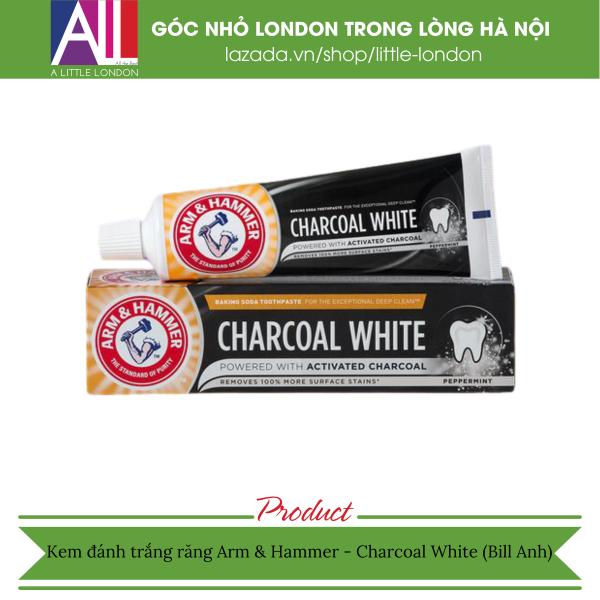 Kem đánh trắng răng Arm & Hammer - Charcoal White (Bill Anh)