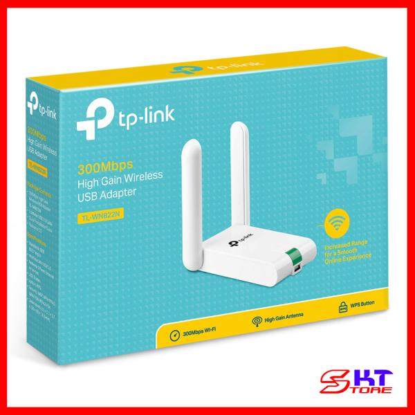 Bảng giá USB Thu Sóng Wifi (high gain) Tp-Link TL-WN822N Chuẩn N Tốc Độ 300Mbps - Hàng Chính Hãng Phong Vũ