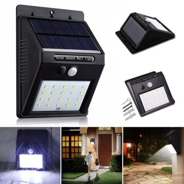 Bảng giá (loại tốt)Đèn năng lượng mặt trời 100 LED - 3 chế độ sáng đèn cảm biến hồng ngoại, thời gian sạc nhanh, siêu sáng, thẩm mỹ cao