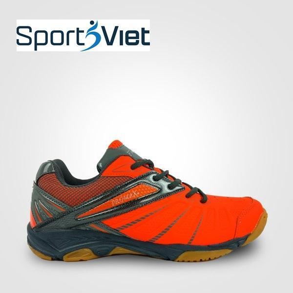 Giày thể thao Promax 19001 mầu đỏ chuyên dụng cầu lông, bóng chuyền, bóng bàn - Giày thể thao chuyên nghiệp SPORTSVIET