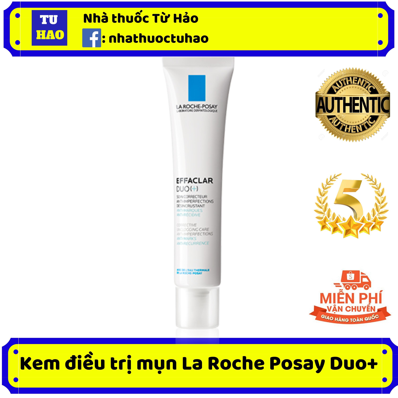 Kem giảm mụn ngăn ngừa vết thâm và giúp ngừa mụn tái phát La Roche Posay Effaclar Duo+ (New)
