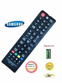 Điều khiển tivi SamSung RM-L1088+ vào mạng smart internet loại tốt thay thế khiển theo máy dùng - tặng kèm pin chính hãng - Remote SamSung L1088+ - Remote tivi SamSung dùng được cho tất cả dòng tivi samsung internet- Bảo hành 3 tháng thumbnail