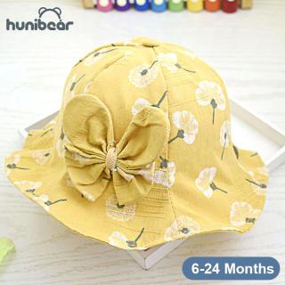 BabyBoy Cô Gái Hat Lưu Vực Hat Bướm Hoa Hat Cotton Che Nắng Mùa Hè Ngư Dân Hat Cho 6-24M