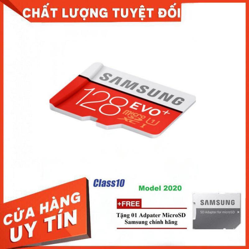 [Xả Kho] Thẻ nhớ MicroSD Samsung EVO Plus 4K 128GB 100MB/s 128GB Box Hoa - Hàng Chính Hãng
