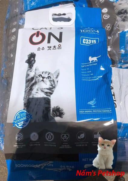 Thức ăn hạt cho mèo mọi lứa tuổi - Cat On 5kg