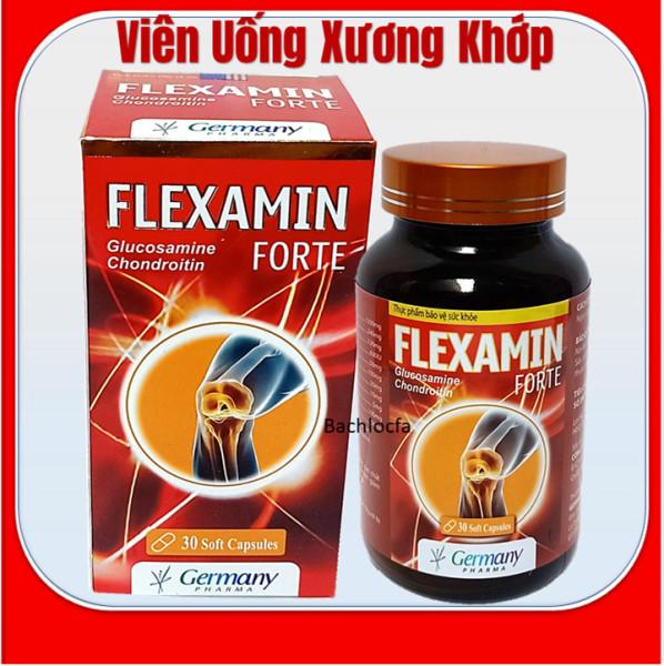 Viên Uống Bổ Xương Khớp Glucosamine Flexamin giảm đau nhức mỏi xương khớp, giảm thoái hóa khớp - Hộp 30 viên