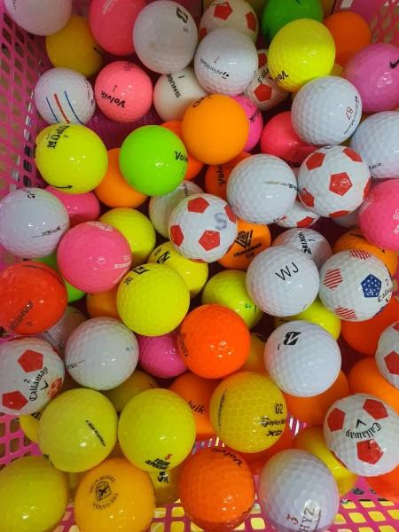 10 quả Bóng golf MÀU đủ các thương hiệu. Bóng golf Srixon. Bóng golf Volvik. Bóng golf  Bridgestone