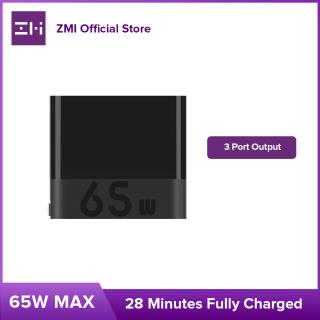 ZMI HA835 65W sạc nhanh Three-port Charger Cốc sạc nhanh 3 cổng PD45W Charging Head Suitable hỗ trợ sạc Huawei Apple 12 Mobile Phone 18W Xiaomi 11Ultra 10 Fast Charge Macbook Notebook Thinkpad Adapter thumbnail