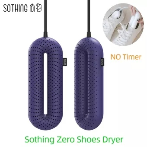 Sothing Zero-One Shoe Dryer 220v Portable Household Electric Sterilization Shoe Shoes Dryer Constant Temperature Drying Deodorization Shoe Shoes For Home Outdoor Travel