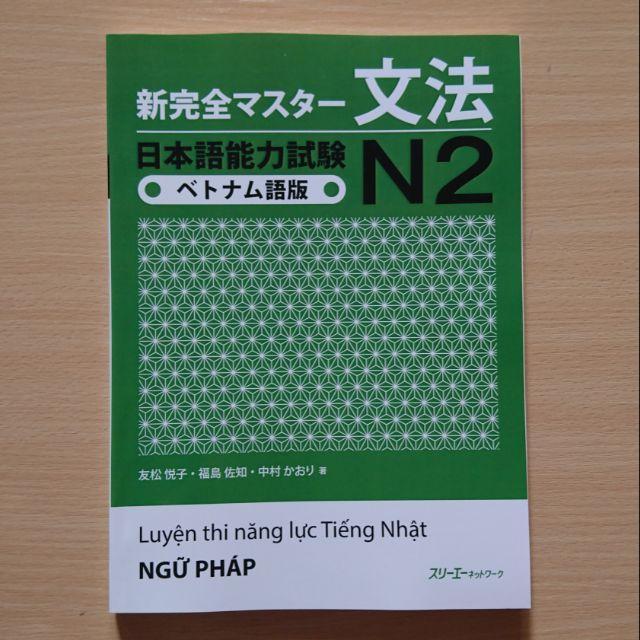 Shinkanzen Master N2 Ngữ Pháp – Bản Tiếng Việt Giá Tốt Không Nên Bỏ Lỡ