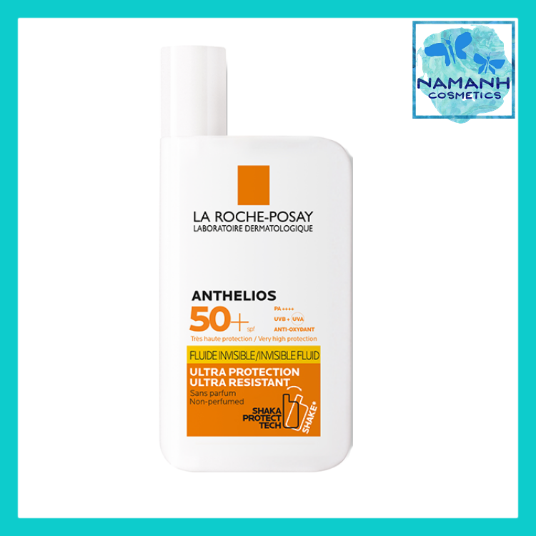 Kem chống nắng NON-PERFUMED La Roche-Posay Anthelios Shaka Fluid PPD 46, SPF 50+