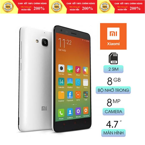 [Xả Kho Thanh Lý] - Điện thoại Xiaomi Redmi 2 (1GB/8GB) - Hàng Chính Hãng