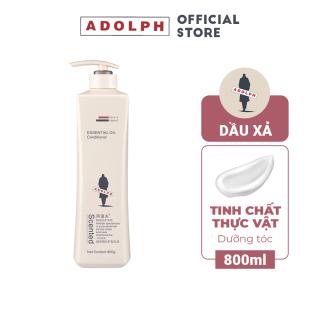 Dầu xả dưỡng tóc tinh hoa thực vật Adolph Herbal Essence Hair Conditioner phục hồi tóc hư tổn, giúp tóc mềm mượt 800ml thumbnail