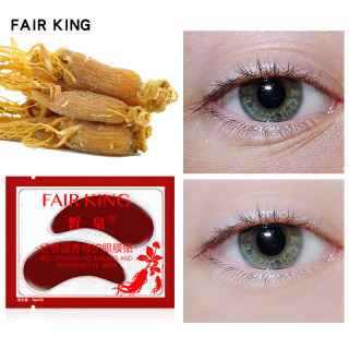 FAIR KING 1PCS Red Ginseng Nourishing And Repairing Eye Mask Remove Wrinkles Dark Circles Anti-Aging Fade Fine Lines Anti-Pufiness Eyebags Eye Masks Serum Lift Skin Care thumbnail