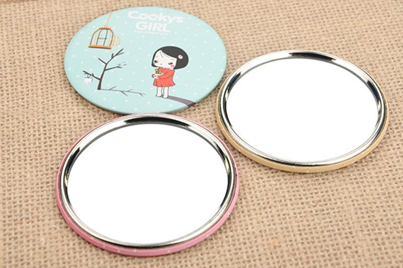 Combo 5 gương cầm tay mini phong cách Hàn Quốc cao cấp