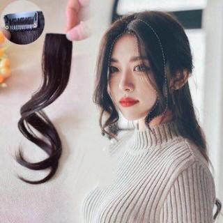 [Màu Nâu choco]TÓC MÁI MAI Giả Style Hàn Quốc nâu đen socola - Tóc giả 2 bên mái xoăn tiểu thư thumbnail