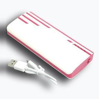 Pin sạc dự phòng 3 cổng USB new 20.000MAH màu hồng - Hỗ trợ sạc nhanh