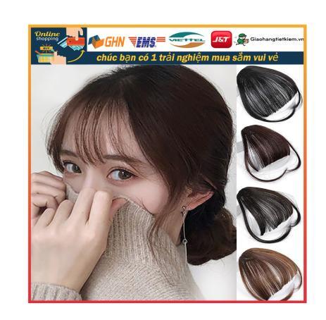 【1PC】Tóc cô gái Tóc mái thưa và nhẹ, Tóc mái giả Phong cách thời trang giá rẻ