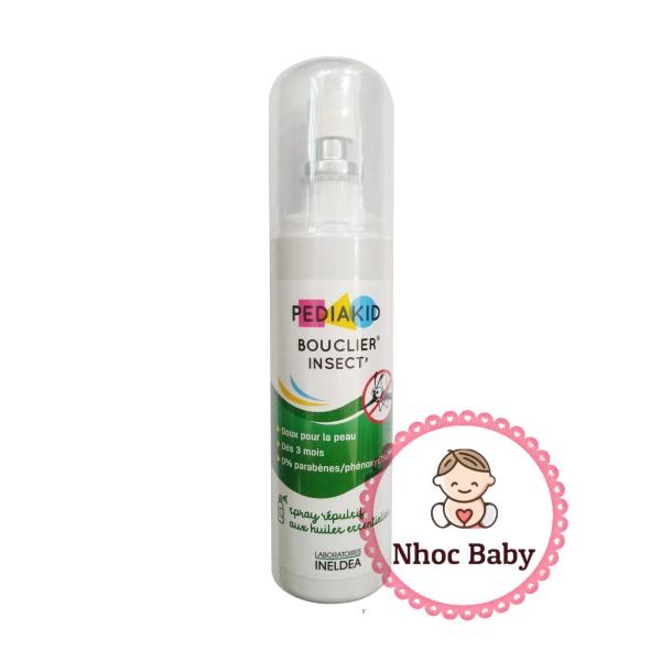 [HSD 7/2023] Xịt chống muỗi Pediakid cho bé 3m+ chai 100ml