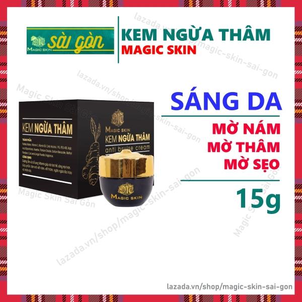 KEM NGỪA THÂM Magic Skin kem nghệ NGỪA THÂM SẸO do mụn và vết thương ngoài da cao cấp
