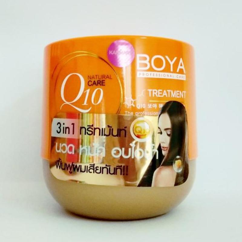 Kem Ủ Tóc Boya Hair Treatment Q10 Thái Lan 500G cao cấp