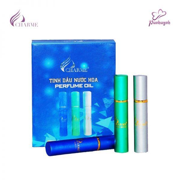 Set tinh dầu nước hoa nam Charme Perfume