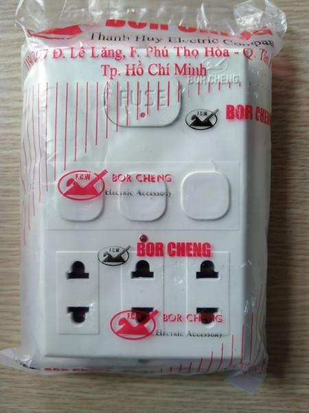 Bảng giá Taplo 1, 2, 3 công tắc giả âm S3 - Conip - Taplo 1, 2, 3 công tắc ổ cắm giả âm BOR CHENG giả âm