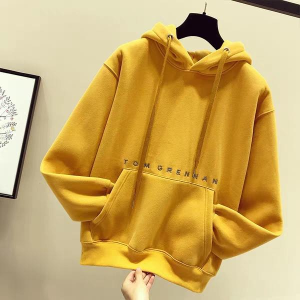 Áo hoodie nữ thêu TOM GRENNAN cực chất - NL91-NA