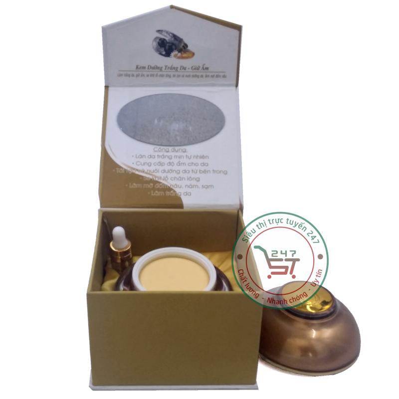 Kem dưỡng trắng da Nhật Việt Giữ ẩm Ngọc trai đen - Sữa ong chúa 50g (Trắng - Vàng)|Siêu thị trực tuyến 247