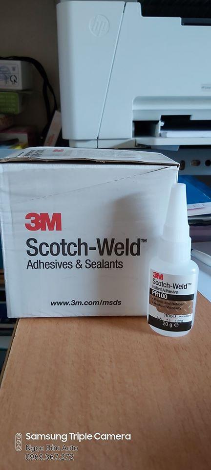 Keo Siêu Dính 3M PR100 - Scotch-Weld™ Plastic & Rubber Instant Adhesive PR100 Cùng Giá Khuyến Mãi Hot