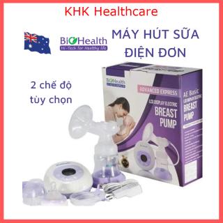 Máy hút sữa điện đơn Biohealth AE Basic có đệm massage kích sữa không làm đau mẹ thumbnail