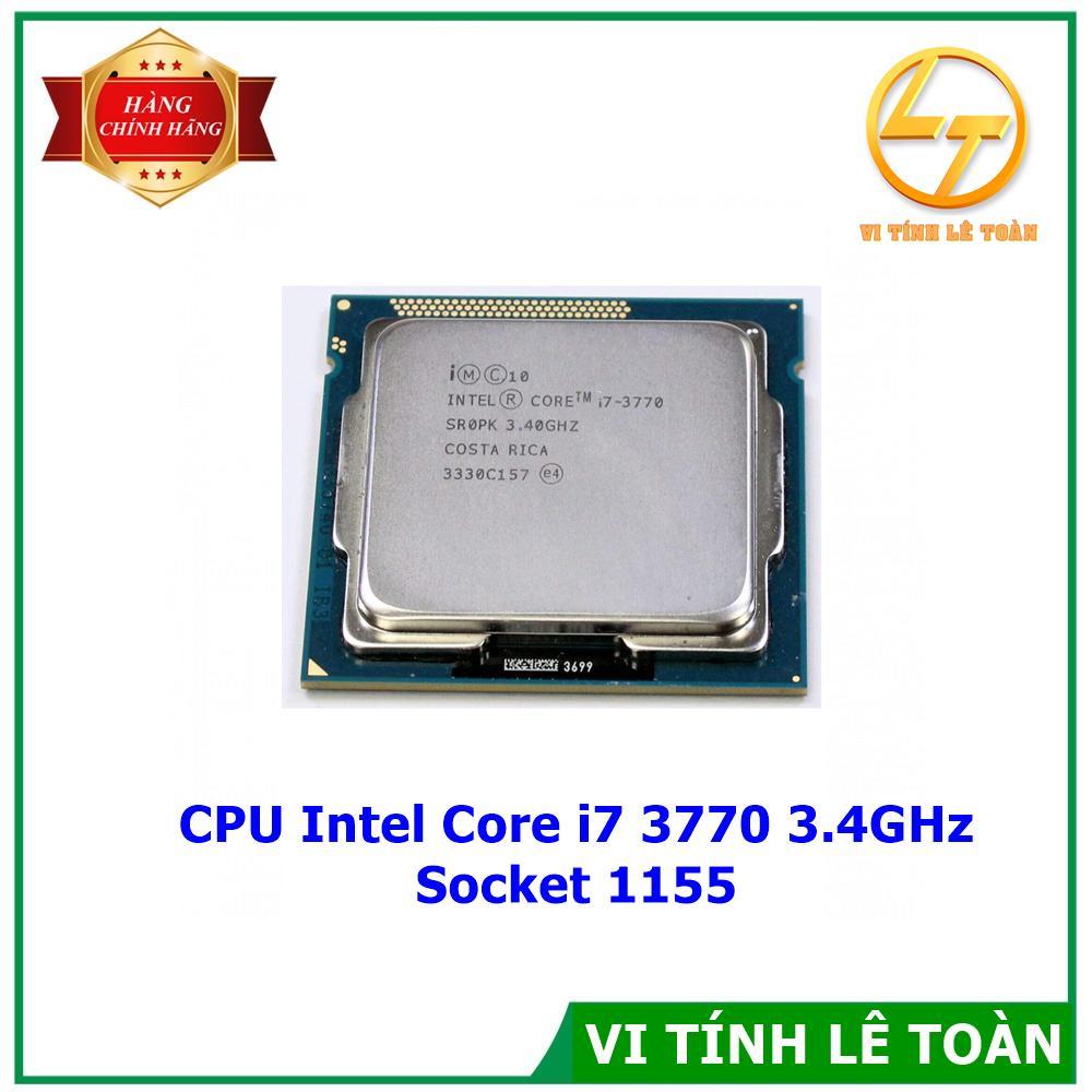 Giá CPU Intel Core i7 3770 3.4GHz Socket 1155